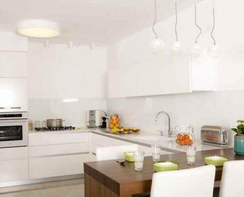 עיצוב מטבח בבית משפחת יחזקאל