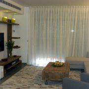 עיצוב סלון בבית משפחת ענבר